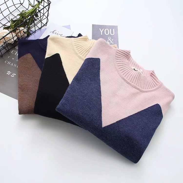 G6 осень-зима Свободные свитеры 5XL плюс Размеры женская одежда модные Свободные Вязание пуловеры платье 615