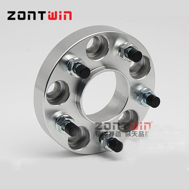 25 мм ZONTWIN CNC алюминиевого сплава колеса Адаптеры 5-114,3 66,1 костюм для автомобиля NISSAN 350Z Универсальный Максима SentraTOURING, NISMOTRACK