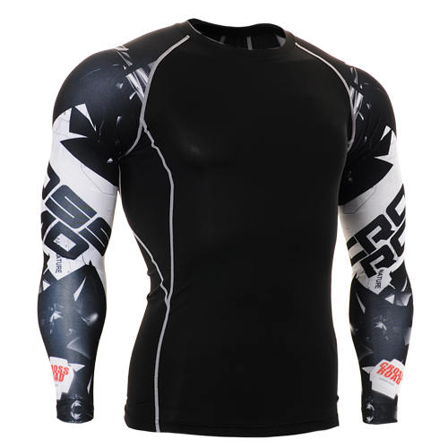 Life on Track yoga compression tights men geometric tops clothes3d printing clothing for rugby football basketball