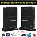30 М футов Беспроводной HDMI 60 Г Extender Поддержка Full HD 1080 P 3D ТВ Аудио Видео Отправитель Передатчик Приемник WIHD HDCP 2.0 DTS-HD