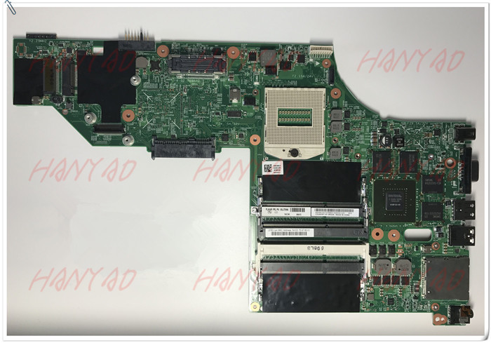 48.4LO13.021 For Lenovo Thinkpad W540 Laptop Motherboard FRU 04X5293 K2100M GPU N15P-Q3-A1 free Shipping 100% test ok image