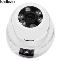 GADINAN ONVIF Metal Dome IP Netwerk Camera Vandalproof 720 P 960 P 1080 P Optioneel 6 stks Array Waterdichte Outdoor/Indoor IP CCTV