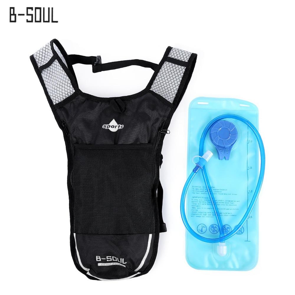 B-SOUL Cycling Backpack MTB 5L Bicycle Bag Outdoors Sport Backpacks Bike Bicycle Cycling Bag Bolsa Bicicleta +2L Water Bag