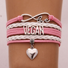 Cute Vegan bracelets