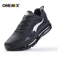 Onemix New 2017 Air Sports Running Shoes Men Cushioning Breathable Massage Sneakers For Men Sport Shoes