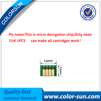 For HP72 HP 72 Ink Cartridge ARC Chips for HP Pro officejet T770 T790 T1100 T1120 T1200 Printer Auto Reset Cartridge Chips