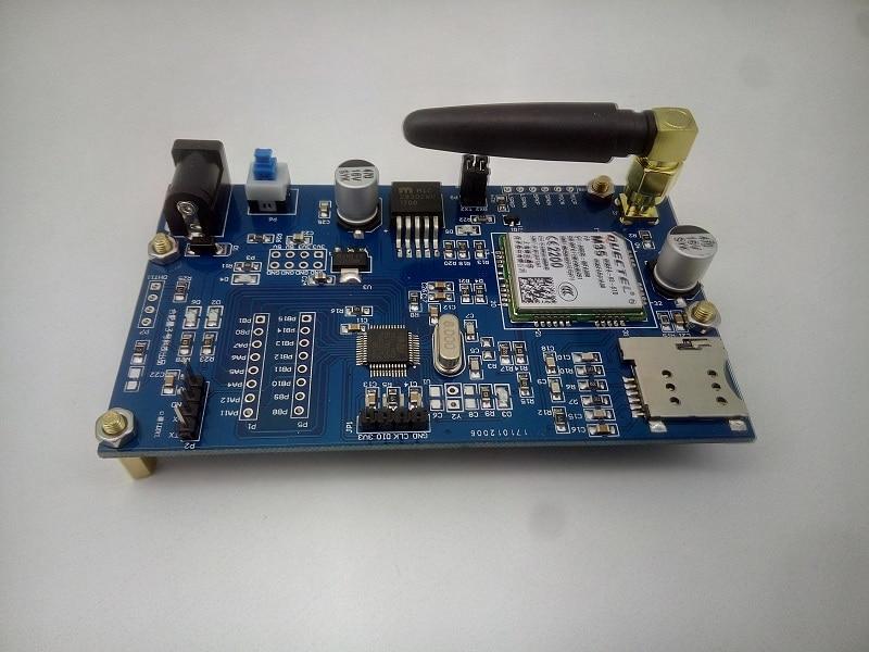 STM32 development board remote M35 GSM GPRS communication module TTS voice data LBS positioning Quectel fast free ship stm32 sim800a eeprom gprs module rtu dtu mcu development board remote transmission mcu stm32f103rbt6