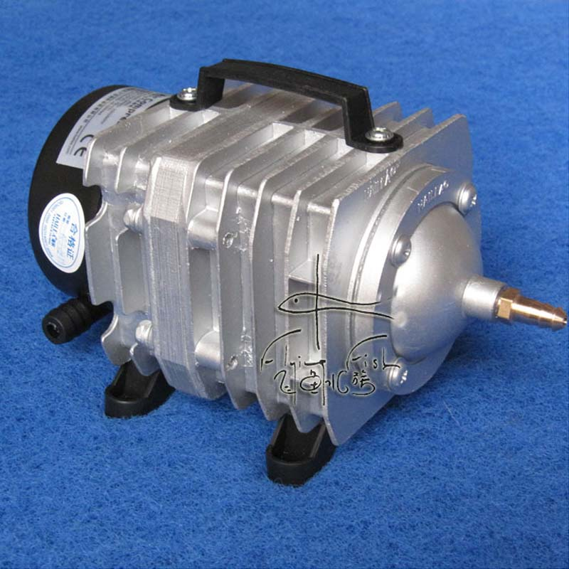 Free shipping,82L/min Hailea ACO-328 Electromagnetic Air Compressor,Aquarium air pump,Fish Tank Oxygen air pump 8 l min electric diaphragm 12v dc mini air pump brush