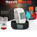 2016 New Sports Smart Band Hesvit S3 Smart Bracelet Smart Wristband Sports Fitness Tracker SmartBand Heart Rate Monitor