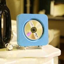 ET настенное крепление CD плеер портативный Bluetooth динамик беспроводной музыкальный проигрыватель раннего образования CD плеер домашнего аудио с USB кабель