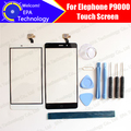 Elephone P9000 Tela de Toque Digitador Garantia 100% Original Digitador Da Tela de Toque Do Painel de Vidro Para P9000 + ferramentas + Adesivo