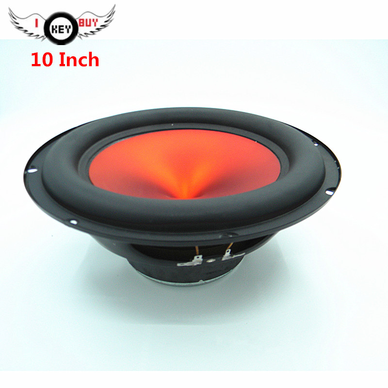 New Arrival 2019 Cheap Price 10 Inch Powerful Car Audio Subwoofer 4 Ohm Quality  Car Trunk Acoustic Speakers Woofers Parantes