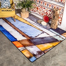 HUAMAO 200*300cm Big Water Wash Living Room Carpet Kid Room Floor Mat Thick Bedroom Rug For Home Decor and Prayer Blanket