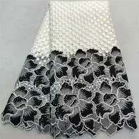 ZQ!African Lace Fabric 2018 High Quality Lace African Guipure Cord Lace Embroidery Nigerian Wedding Lace Fabric ! P90732