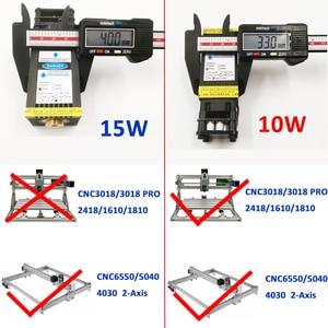Image 5 - 10W 15W Module Laser à mise au point fixe PWM TTL pour 2 ou 3 axes CNC Machine de gravure métal bois Laser graveur imprimante CNC laser bleu