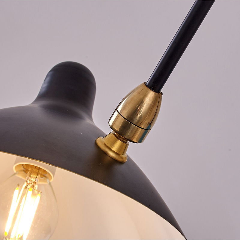 Black Loft Iron Wall Lamp modern utility model Lighting Indoor Wall Lamp Living room study bedroomwall light free shipping in LED Indoor Wall Lamps from Lights Lighting