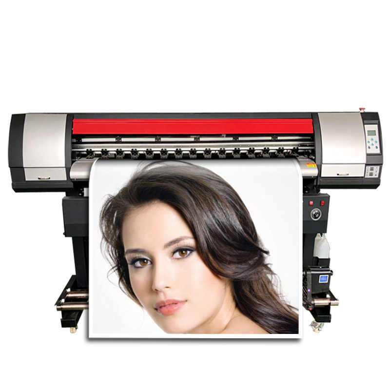 Digital Tinta Printer 1.6M Dx5 Printhead Eco Solvent Mesin Cetak untuk Vinyl Stiker Kertas Foto Kanvas Printer Plotter