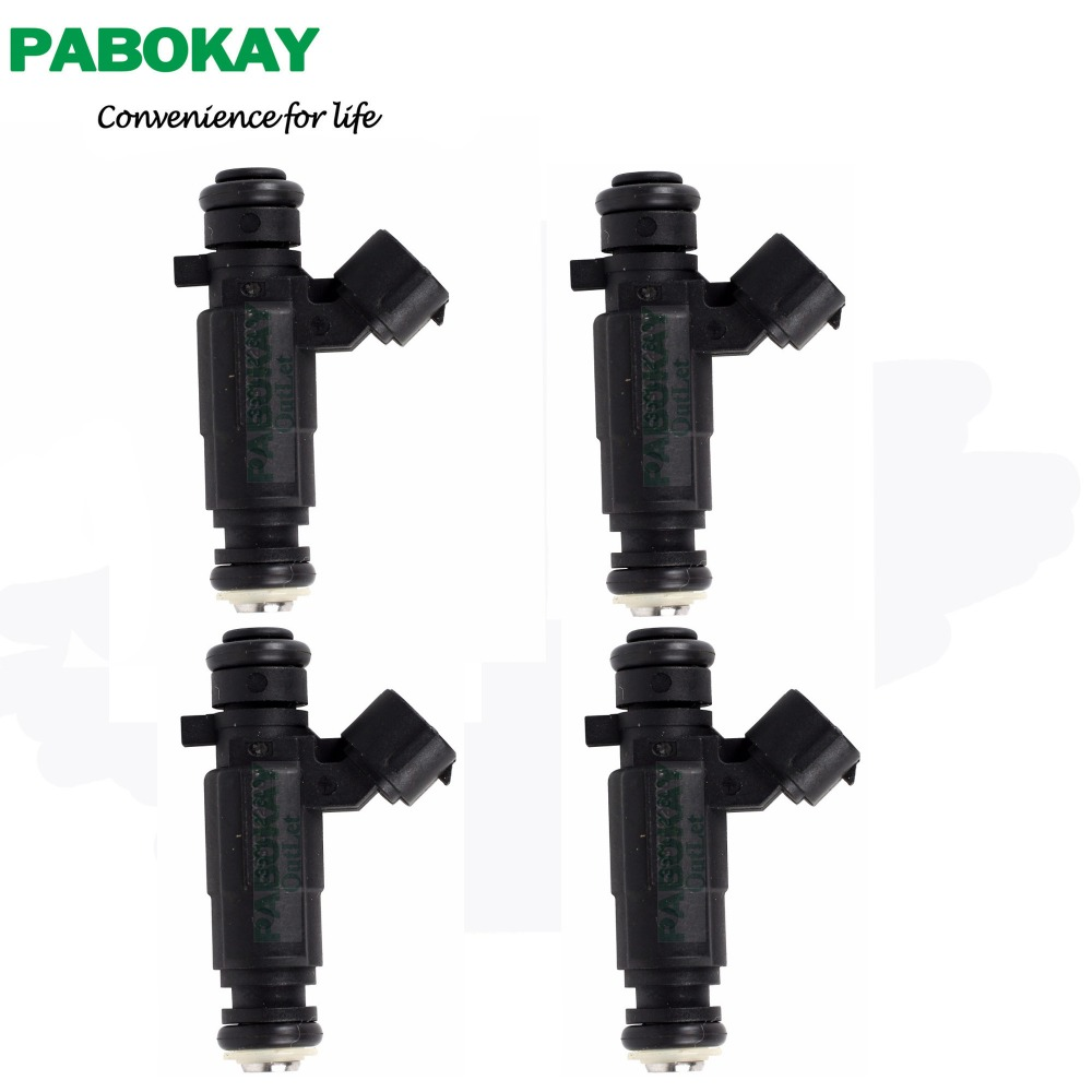 4 pieces x Flow Matched Fuel Injector Set For Hyundai Accent 1 5 1 6 35310
