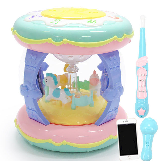 TALE New Enlightenment Instrument CARP Cute Exquisite Toys Educational Double-sided Musical Children Baby 3