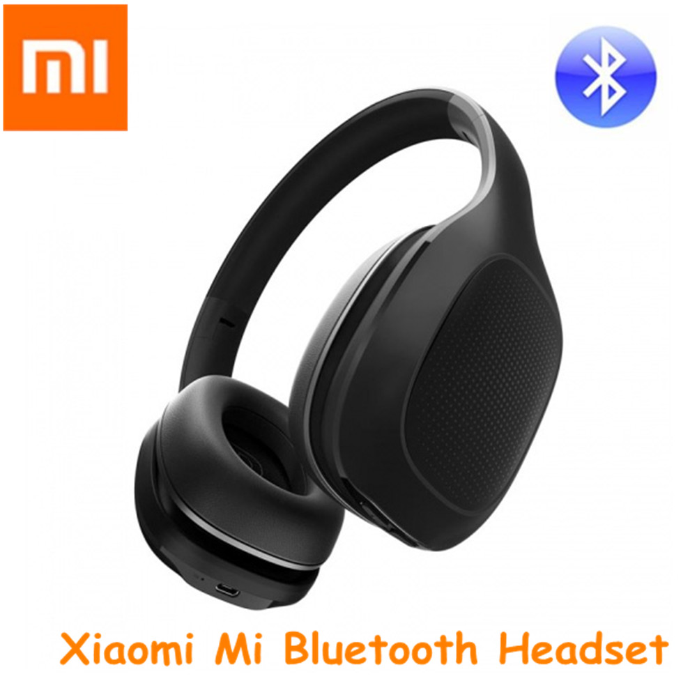 Xiaomi Mi Bluetooth Headset With 40mm Dynamic Driver Foldable Wireless Headphone Hand Free Earphone For Mobile Phone Games new 2016 original linx lx bl11 bluetooth wireless earphone headphone for mobile phone headset headphone free shipping