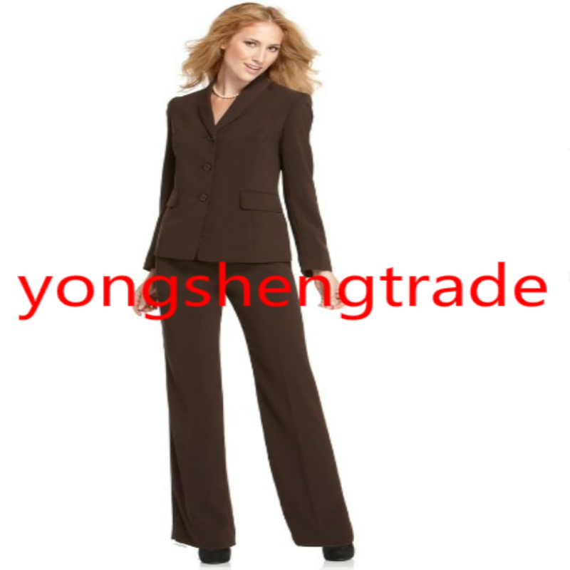 752f64cc4e4 US $115.0 |Designer Women Suit Brown Lady suits Women Dress Accept Custom  Made 344-in Pant Suits from Women's Clothing on Aliexpress.com | Alibaba ...