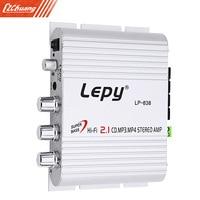 Lepy LP 838 Car Channel Amplifier Stereo Subwoofer Audio Accessory