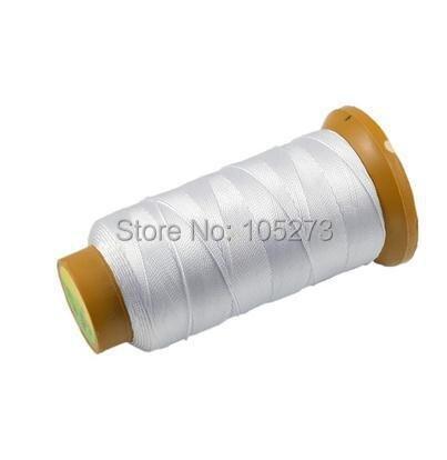 Chất lượng cao bán buôn dòng, dòng polyester 6, ngọc bán buôn ngọc trai cord 0.5 MÉT dày, 480 mét Màu Trắng dài L76-B14