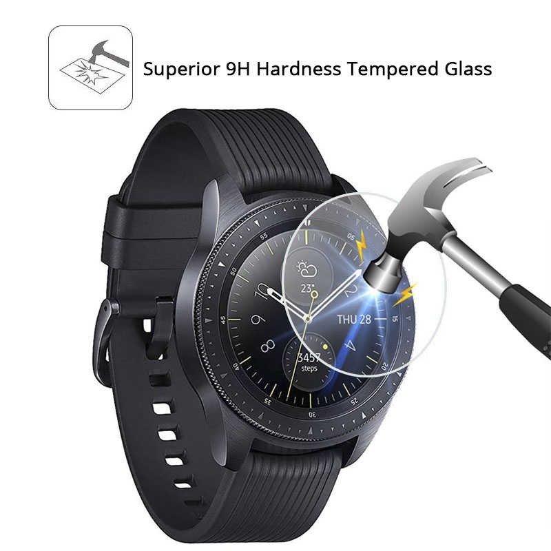 1/2/5 PCSScreen Protector Film for Samsung Watch Tempered Glass for Samsung Galaxy 42 mm Watch Smart watch Glass Protective Film