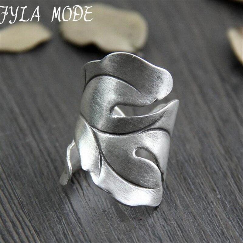 999 Silver font b Jewelry b font font b Ring b font For Women Thai Silver