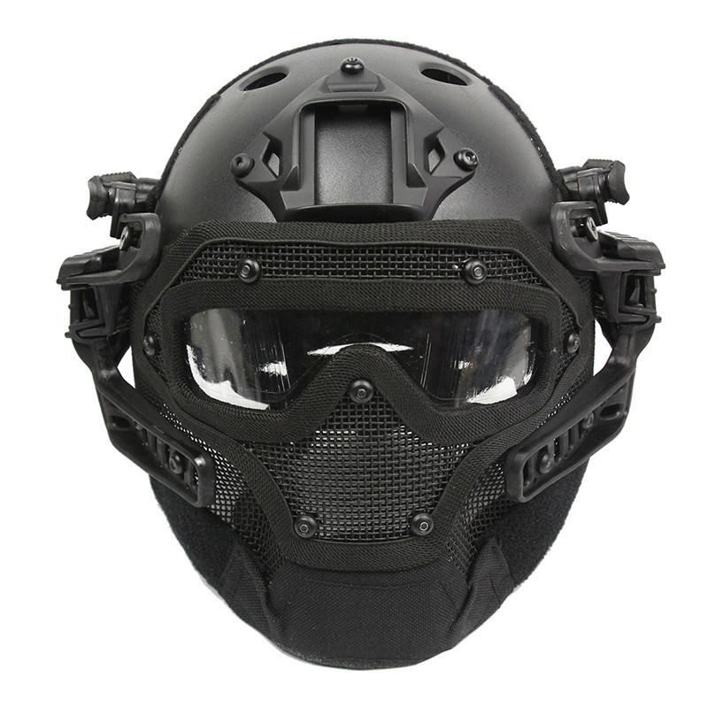 Emerson G4 System/Set PJ Helmet with Overall Protection Glass Face Mask Utility Tactical Helmet BD9197 For Hunting Shooting бур stayer 29250 310 12 sds ф12х250 310мм по бетону