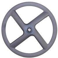 Four 4spoke 700C carbon wheel 23mm width 47mm depth clincher novatec powerway hub hot sale Russia bike team/club trade companies