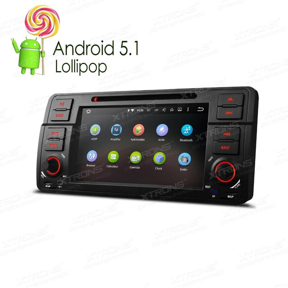 XTRONS 7 Android 5 1 font b Car b font DVD Player 1024 600 GPS Navigation