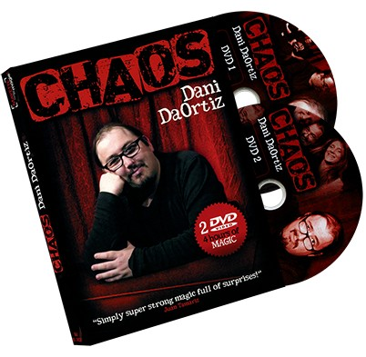 Chaos (2 DVD Set) By Dani Da Ortiz Magic Tricks