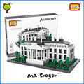 Mr.Froger LOZ The White House Mini Block World Famous Architecture Series USA Presidential Palace Building Models Classic Toys