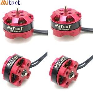 Image 1 - 4pcs/lot RC Motor 1102 7500KV 8000KV 10000KV 1 3S Brushless Motor for 50 90mm Micro FPV Racing Drone Quadcopter