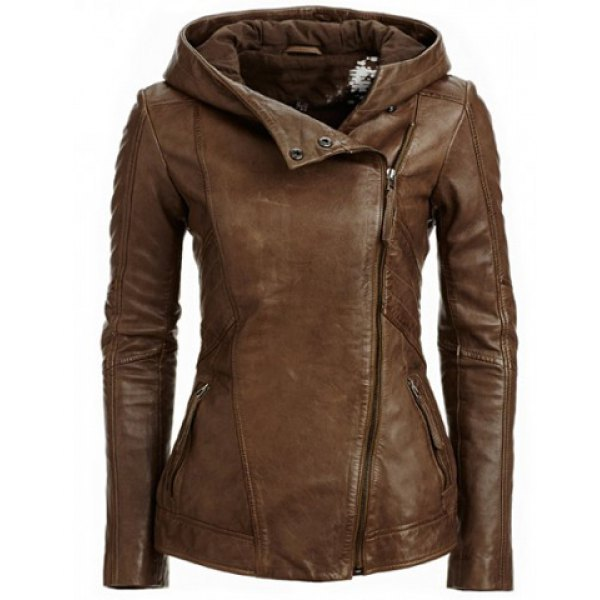 S-2XL Jacket Coat Faux   Leather   Women Chaqueta   Suede   Moto Blouson Bomber Sexy Style Fashion Ladies Retro Casual Coat Outwearr