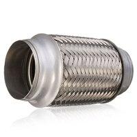 Tubo Flexible de escape para automóvil  tubo de junta Flexible de soldadura de acero inoxidable para silenciador  tubo de escape para automóvil