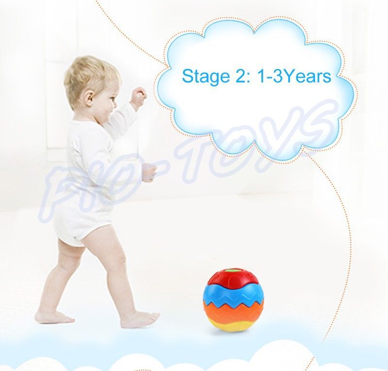 Hotsale Gift Baby Transformation Ball Magic Cubes Education Toys Puzzles Learning IQ Game For Kids Sport Children Building Model 7