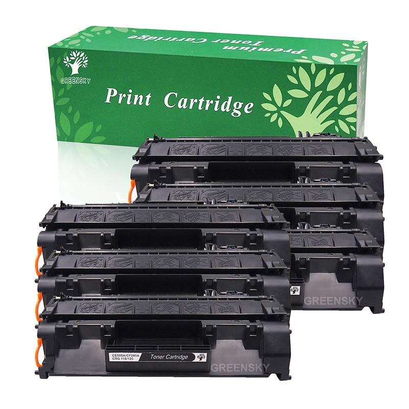 6X CE505A 05A Toner Cartridge For HP LaserJet P2035 P2035n P2050 P2055dn P2055x