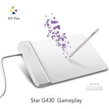 XP-Ручка G430 4×3 дюймовый Ультратонкий Планшет Графический Планшет для ОГУ с без Батареи стилус дизайн! геймплей