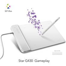 Buy online The XP-Pen G430 4 x 3 inch Ultrathin Drawing Tablet Graphic Tablet for OSU with Battery-free stylus- designed! Gameplay