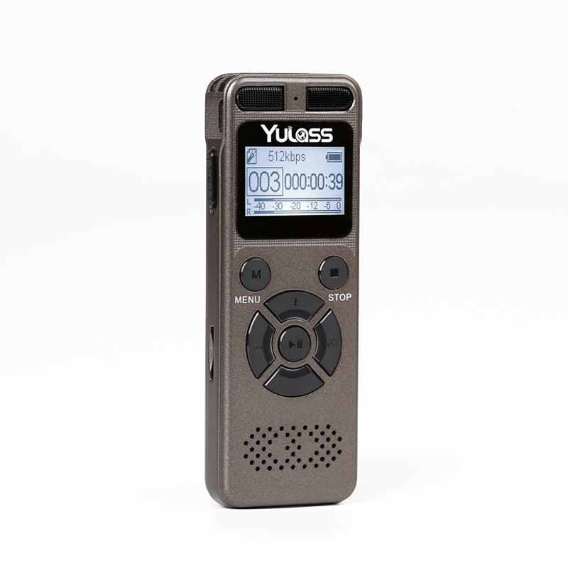 ФОТО Yulass 8GB Professional Audio Recorder Business Portable Digital Voice Recorder USB Support Multi-language,Tf Card to 64GB
