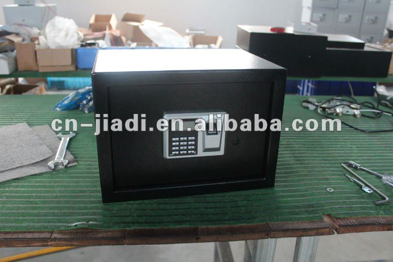 CE EMC certificate biometrics fingerprint safe with LCD display and digital code respondence time:<0.5Sec
