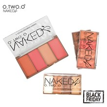 O.TWO.O  Face Make up Waterproof Grooming Powder with Pressed Powder Contour Bronzer Blush Blusher Highlighter Shading
