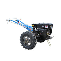 8/10/12/15 HP Two Wheel Walking Tractor Diesel Engine High Quality Chassis