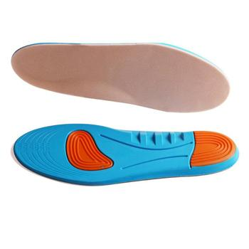 2681440e 1 par diabético plantilla soporte de arco almohadillas de pie ortopédico de  absorción de choque plantillas PU diabético plantilla salud cuidado de los  pies