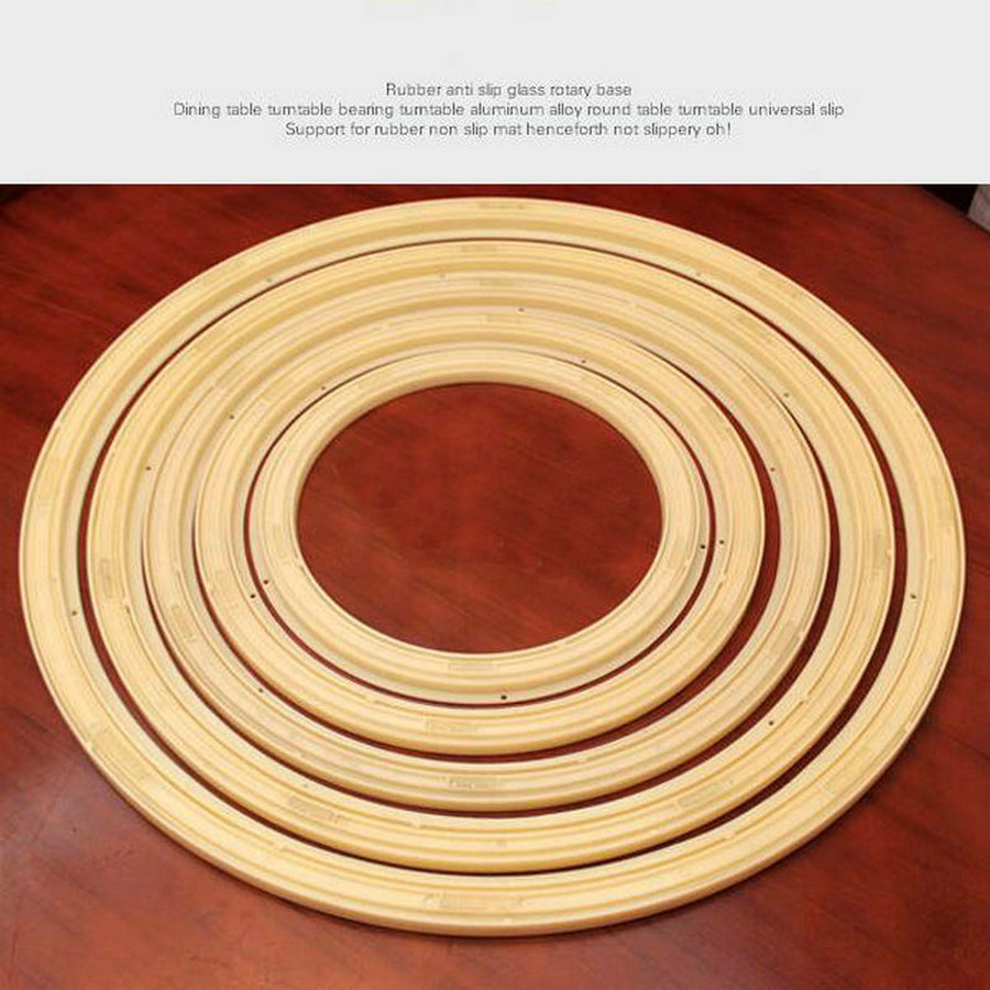 20IN/50CM Environmental Anti Slip Universal Rotating Turn Table Bearing Larizonay Susan Swivel Plastic Lazy Susan 16in 40cm strong abs plastic anti slip universal rotary lazy susan turntable bearing larizonay susan for dining round table