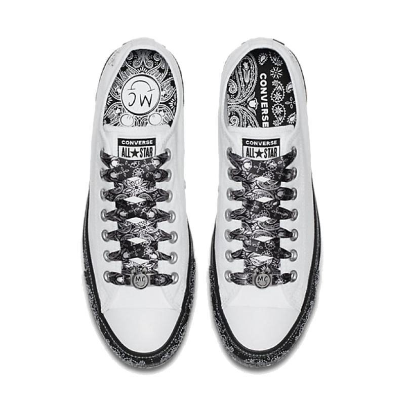 Converse Women X Miley Cyrus All Star Classic Canvas Skateboarding Shoes  Low Top Non slip Resistant Light Vibram Sneakers Women-in Skateboarding  from Sports ... d6a6695eba54