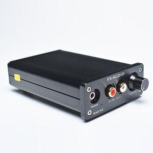 Image 2 - FEIXIANG FX AUDIO MINI DAC X3 włókna koncentryczny USB dekoder 24BIT/192Khz USB słuchawki z przetwornikiem DAC dekoder wzmacniacze audio