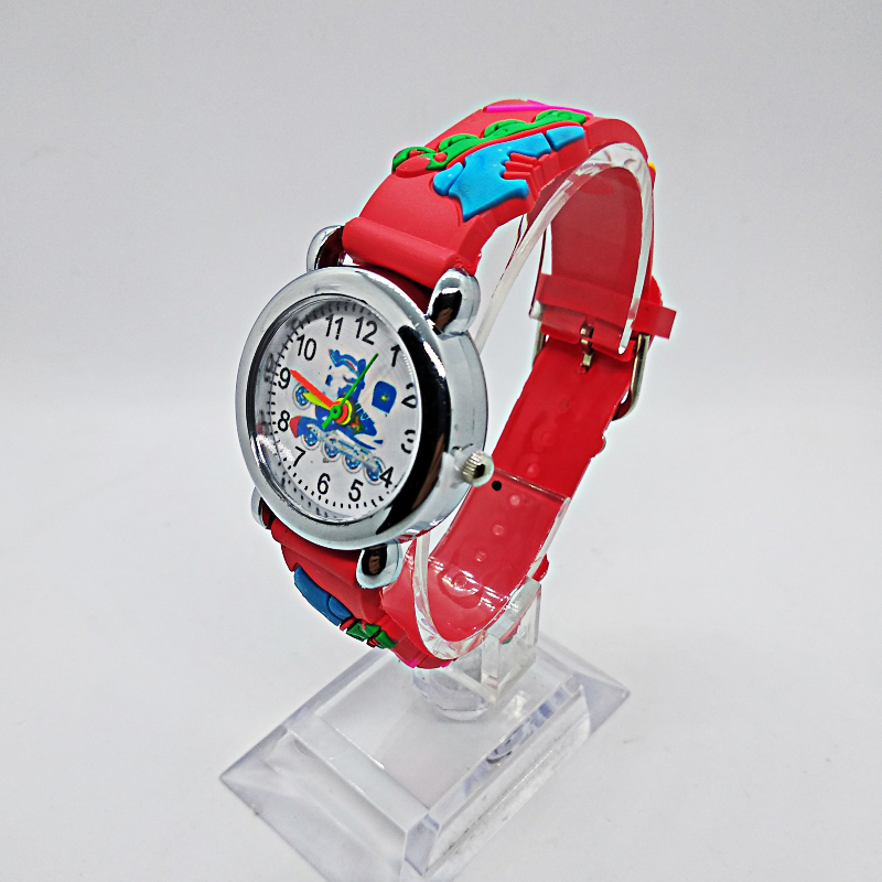 Lot Wholesale Cute Cartoon Baby Quartz Wristwatch Children Leather Watch Pulley Shoes Kids Watches Kid Boy Girls Clock Relojes
